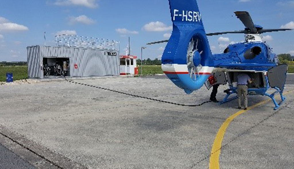 Aerobox Station Service Mobile Avion Helicoptere Blocalps