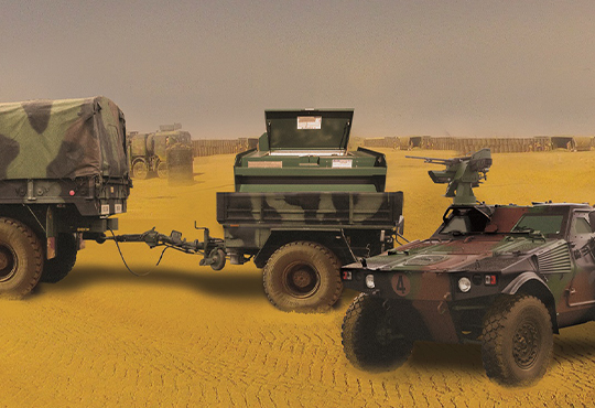 Ravitaillement Autonome Base Militaire Blocalps