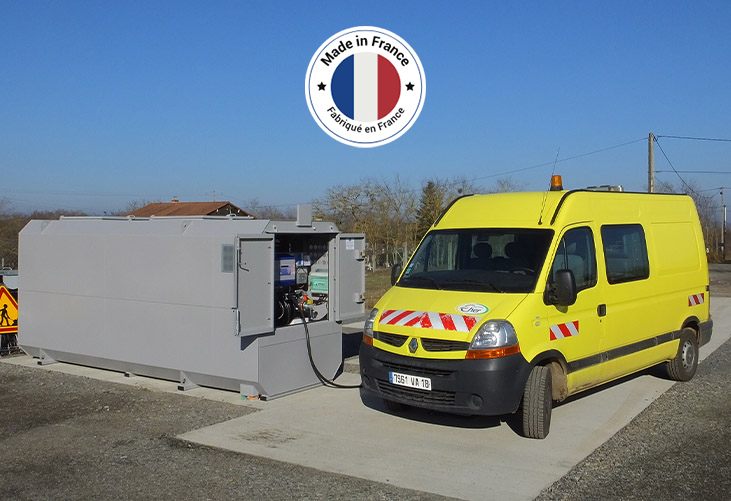 Fabricant Francais Station Carburant Mobile